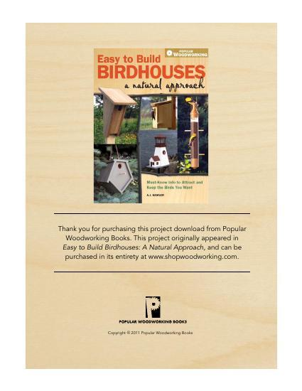 Outhouse Birdhouse