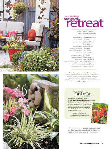Easy Weekend Backyard Retreat, Volume 2