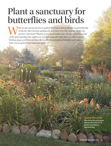 Ultimate Blooms, Butterflies & Birds