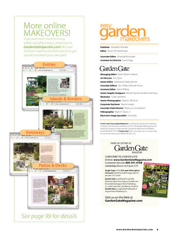 Easy Garden Makeovers
