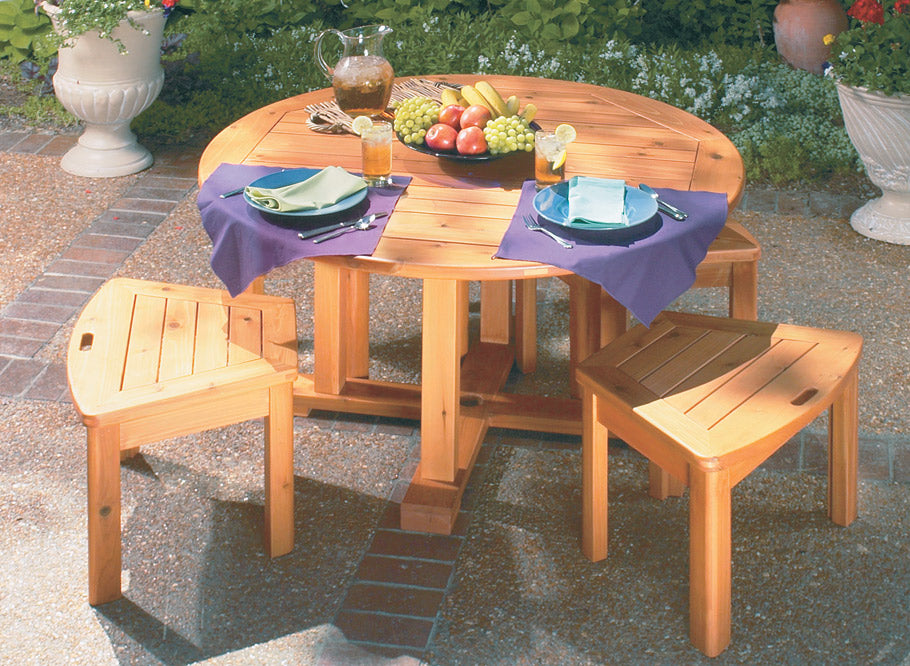 Patio Table & Benches