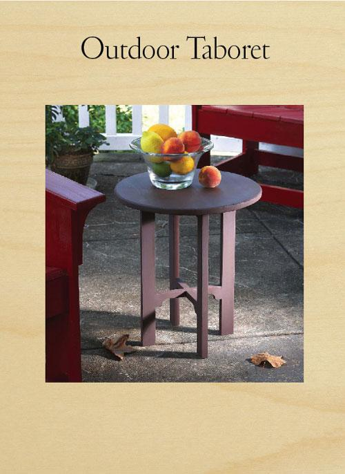 Stickley Outdoor Table