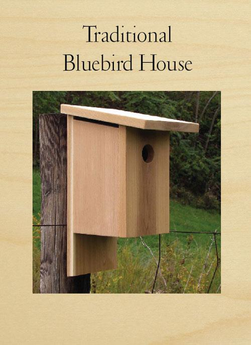 Traditional Bluebird Birdhouse