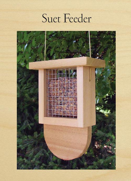 Suet Bird Feeder