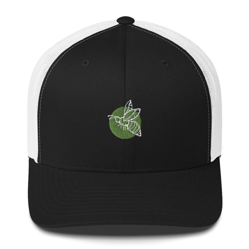 Hand-drawn Bee Icon Trucker Cap