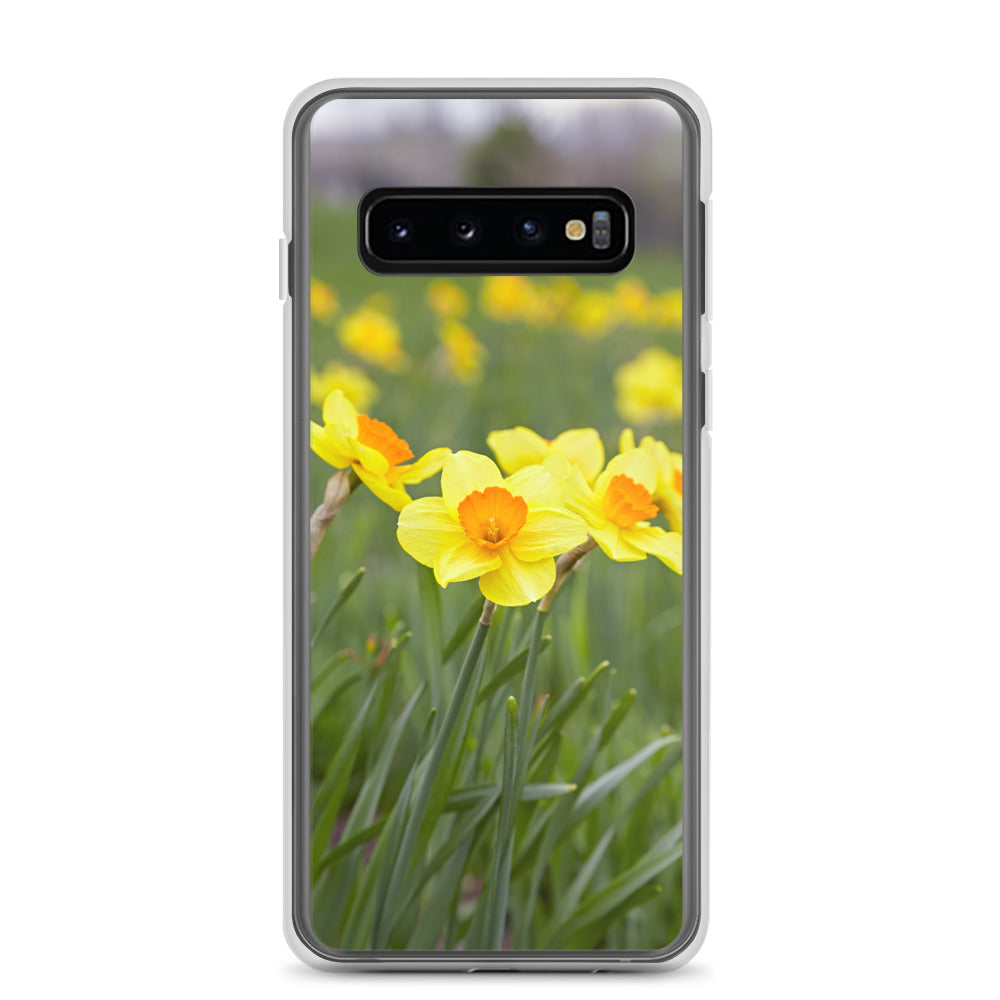 Yellow and Gold Daffodils Samsung Case
