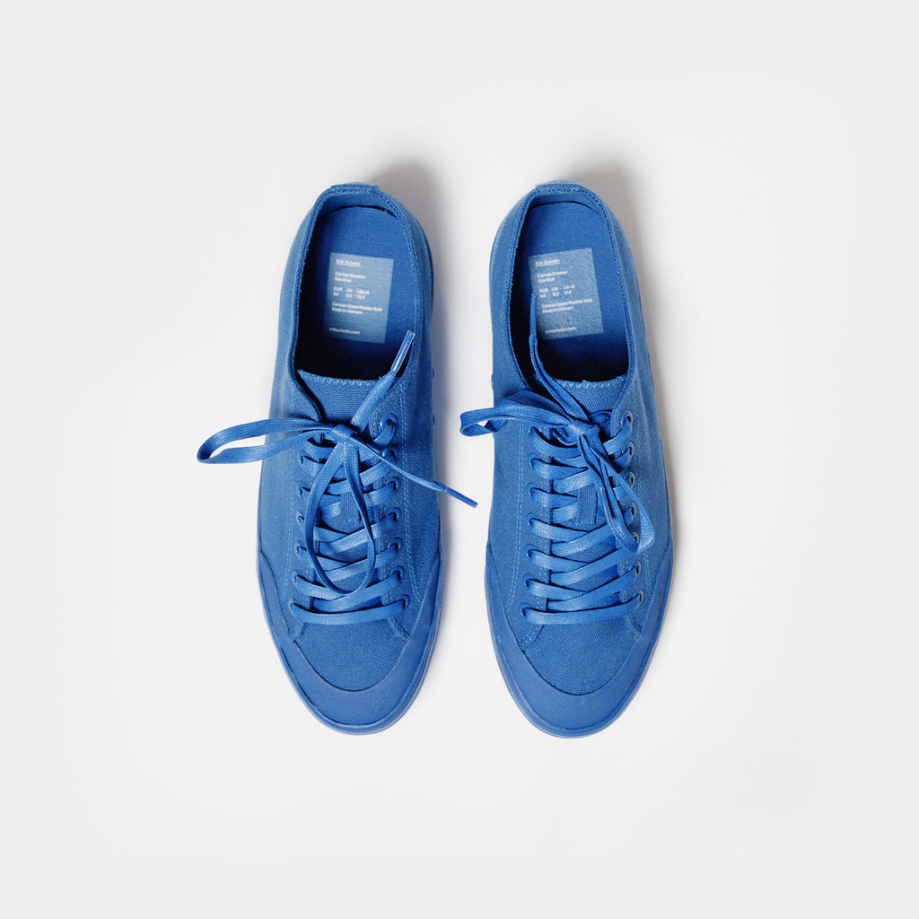 Sea Blue Canvas Sneaker