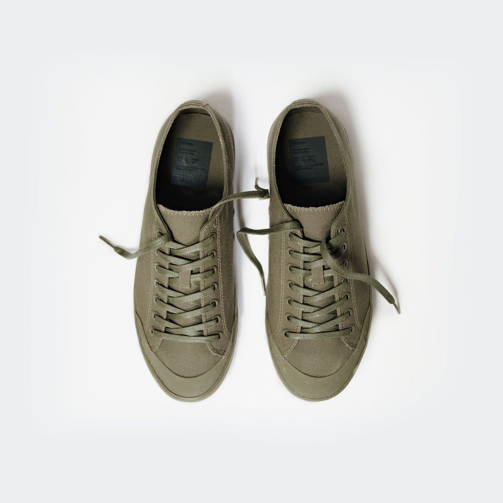 Surplus Green Canvas Sneaker