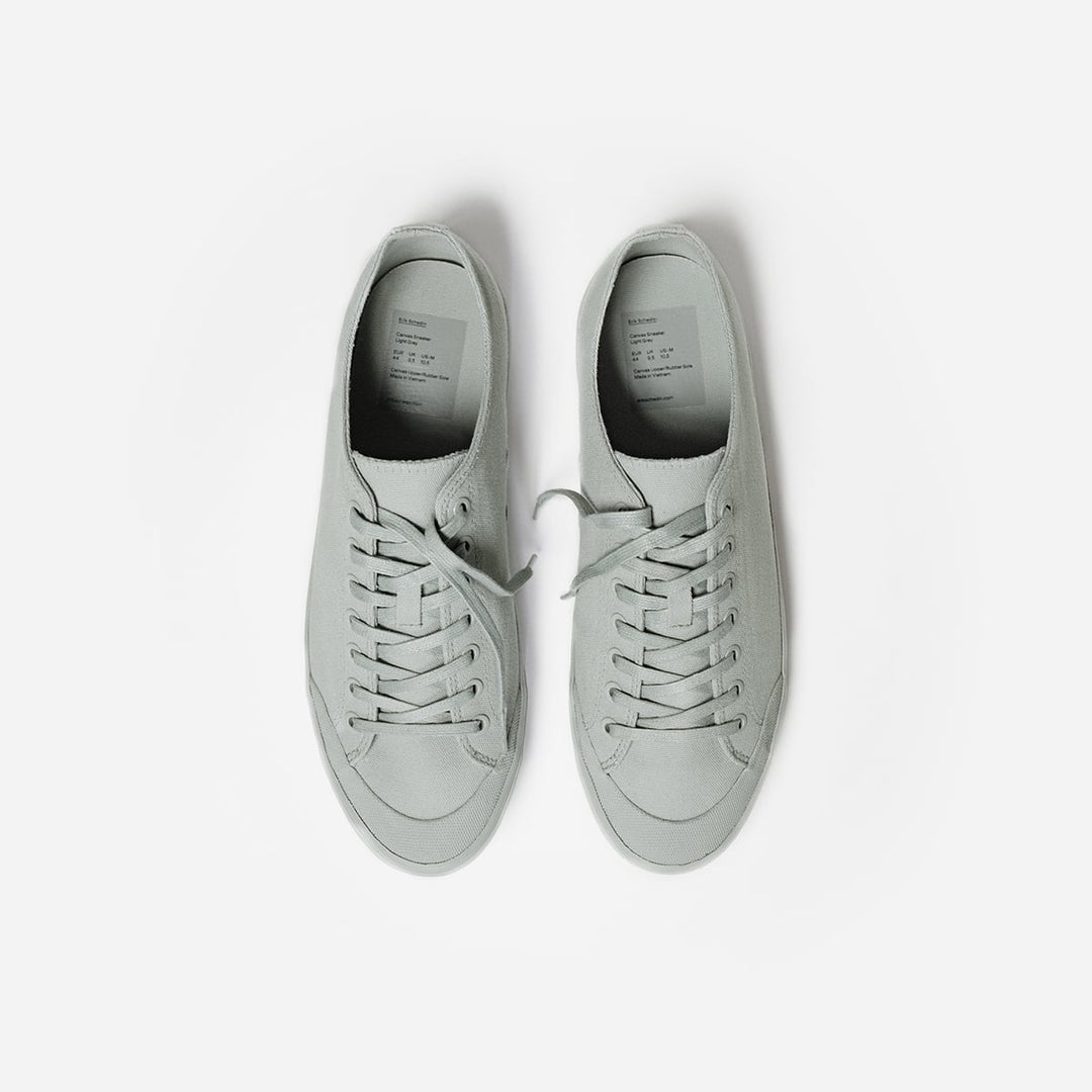 Light Gray Canvas Sneaker