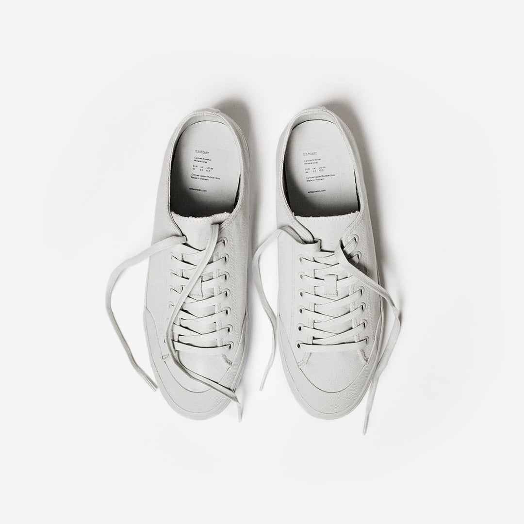 Mineral Gray Canvas Sneaker