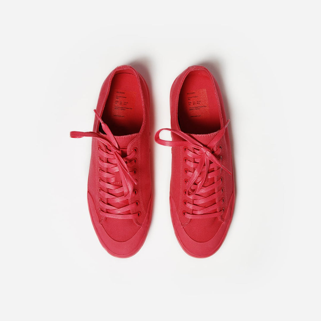 Red Canvas Sneaker