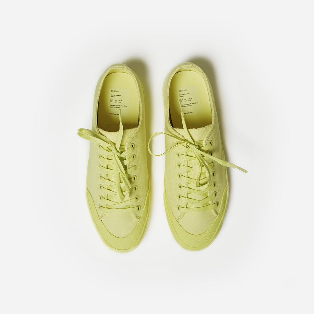 Yellow Canvas Sneaker
