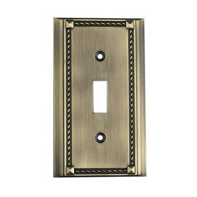 Elk Lighting 2501AB, Antique Bronze, Switch, Single Gang Plate
