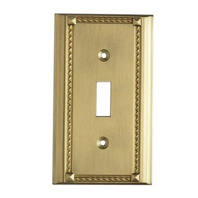 Elk Lighting 2501BR, Bronze, Switch, Single Gang Plate
