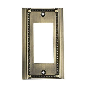 Elk Lighting 2502AB, Antique Bronze, Decora, Single Gang Plate