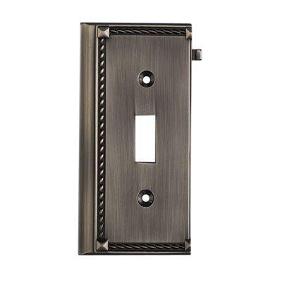 Elk Lighting 2507AP, Antique Platinum, Switch, End Section