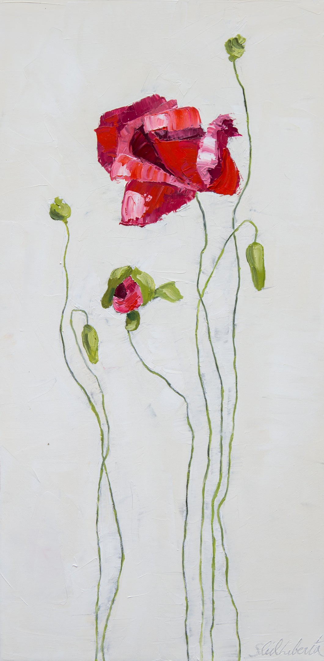 Poppy Study XXXVI-SOLD