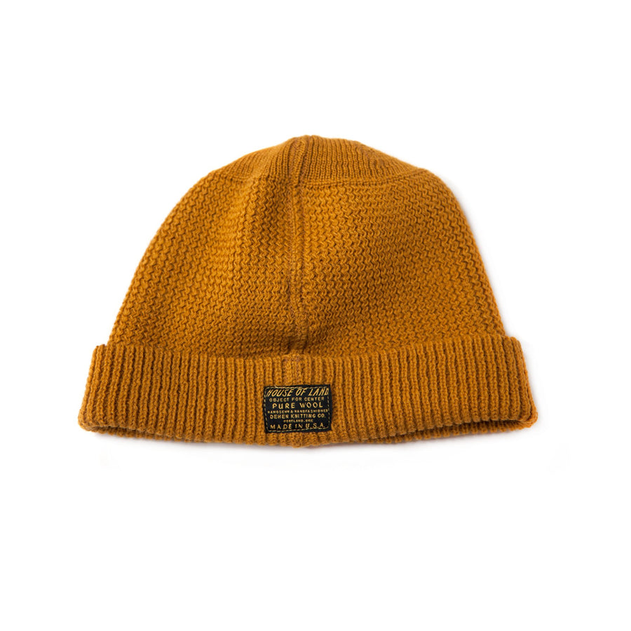8d3e4fe9db3 Watch Cap - Old Gold » House of Land