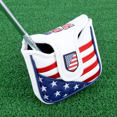 Leather Flag Putter Cover