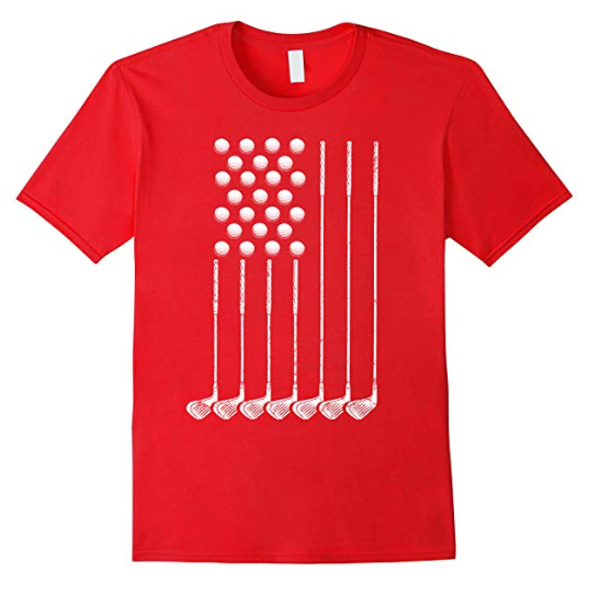Patriotic Golf Tshirt
