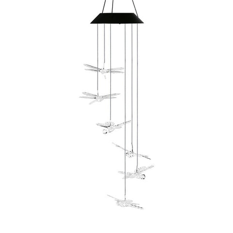 Solar Powered Wind Chime LED Light