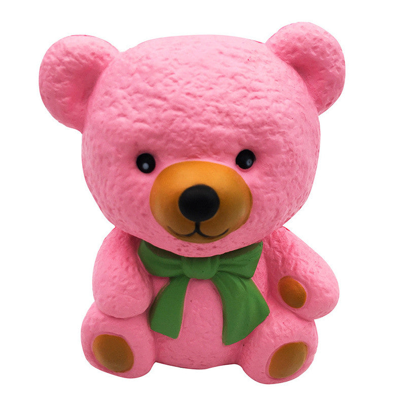 Pink Bear Squishy - slow rising squishy toys