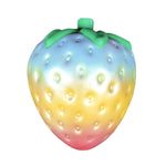 Rainbow Strawberry Squishy - slow rising squishy toys
