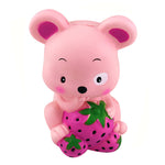 Strawberry Mouse Squishy - slow rising squishy toys
