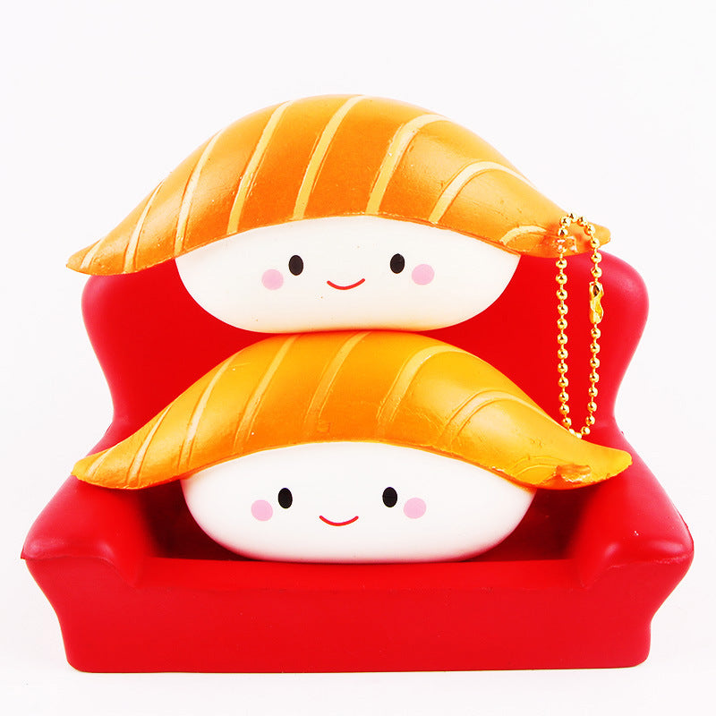Rice Ball Squishy - slow rising squishy toys