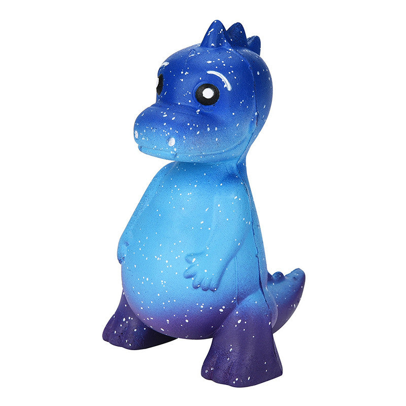 Galaxy Dino Squishy - slow rising squishy toys