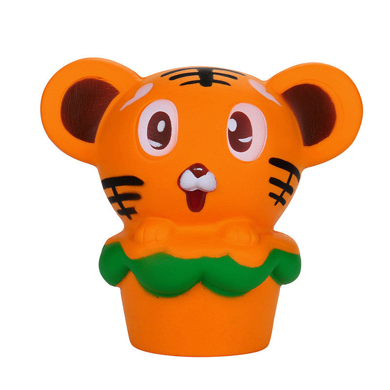 Hamburger Tiger Squishy - slow rising squishy toys
