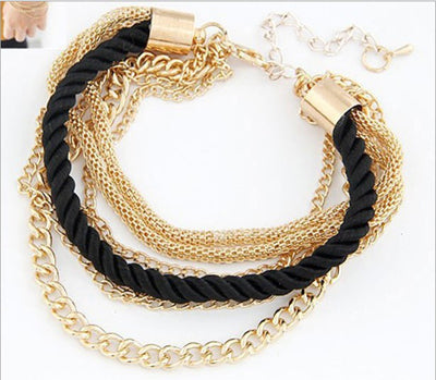 cord leather bracelets diy material and bracelet gold fabdiy or tube