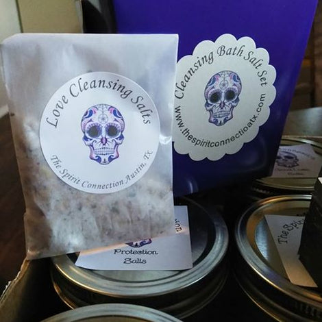 Cleansing Salts and Incense Sticks