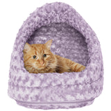 "14"" Ultra Plush Hood Pet Bed"