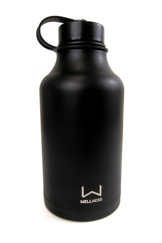 Wellness Double Wall Vacuum Insulated Stainless Steel Growler 64 oz.
