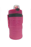 Wellness Foam Insulated Water Bottle with Carry Handle and Hook