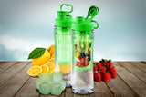 2-Pack Tritan Fruit-Infuser Water Bottle 28 oz.