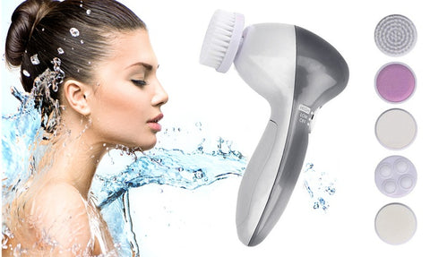 5-in-1 Facial Cleansing Brush Spinning System Set (7-Piece)