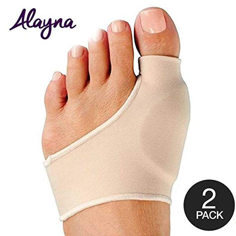 Bunion Corrector and Bunion Relief Sleeve with Gel 2 Pack
