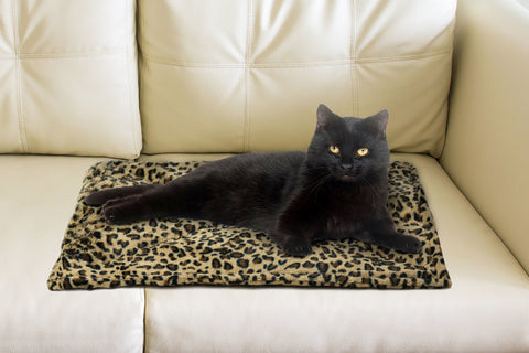 Faux Fur Self-Warming Pet Bed Mat
