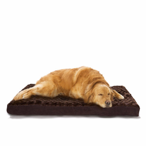 Ultra Plush Deluxe Memory Foam Pet Bed