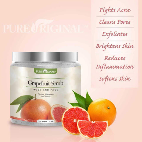 Grapefruit Scrub for Face and Body