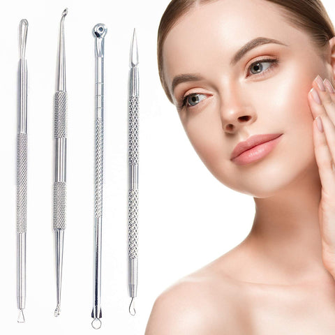 Blackhead Blemish Acne Remover Needle Tool Stainless Steel Set