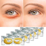 24K Gold Collagen Lifting Eye Patches (5-Pack)