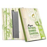Natural Bamboo Charcoal Oil Blotting Sheets