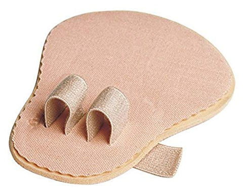 Double Toe Straightener Separator for Crooked, Hammer Toe, Overlapping Toes - 2 pack