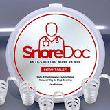 Anti Snoring Nose Vents Snore Stopper Device By SnoreDoc