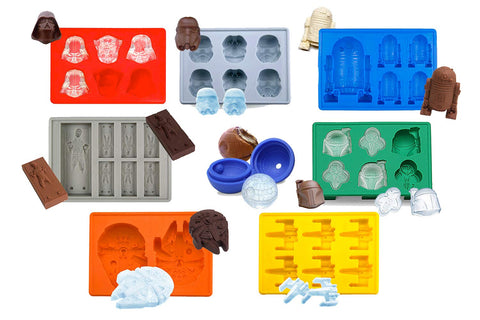 Star Wars Silicone Ice Tray 8-Piece Set