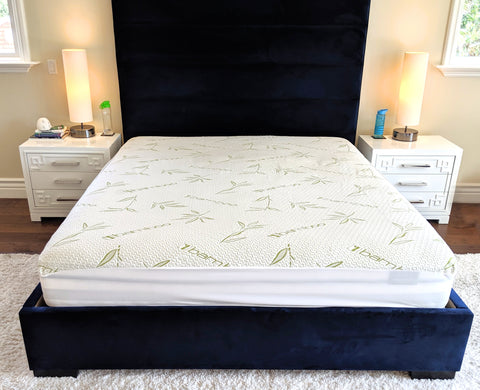 Waterproof Bamboo Mattress Protector Pad