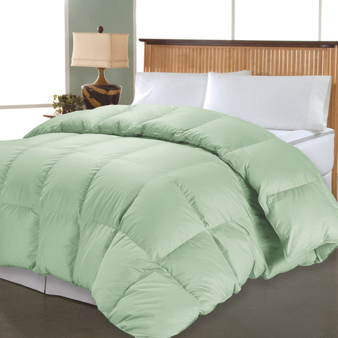 1000 Thread Count Solid Down Alternative Comforter